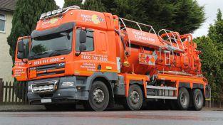 Flood Response | Vacuum Tanker | Sewage